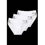 Schiesser Slip - Cotton Stretch - lot de 3 Slips - 035110 - blanc